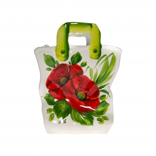 Poppy ceramics bag