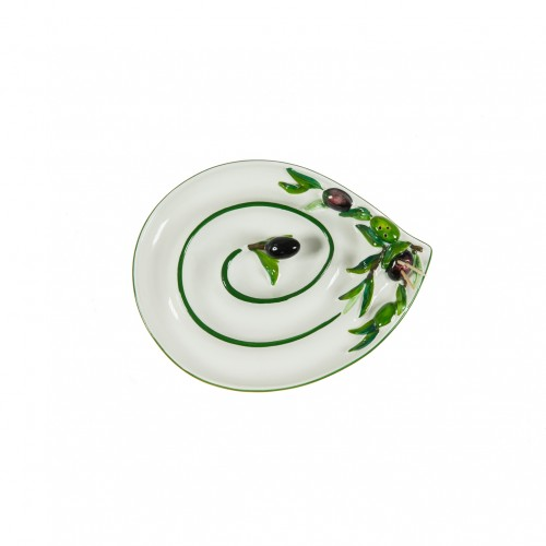 Porta olive goccia grande