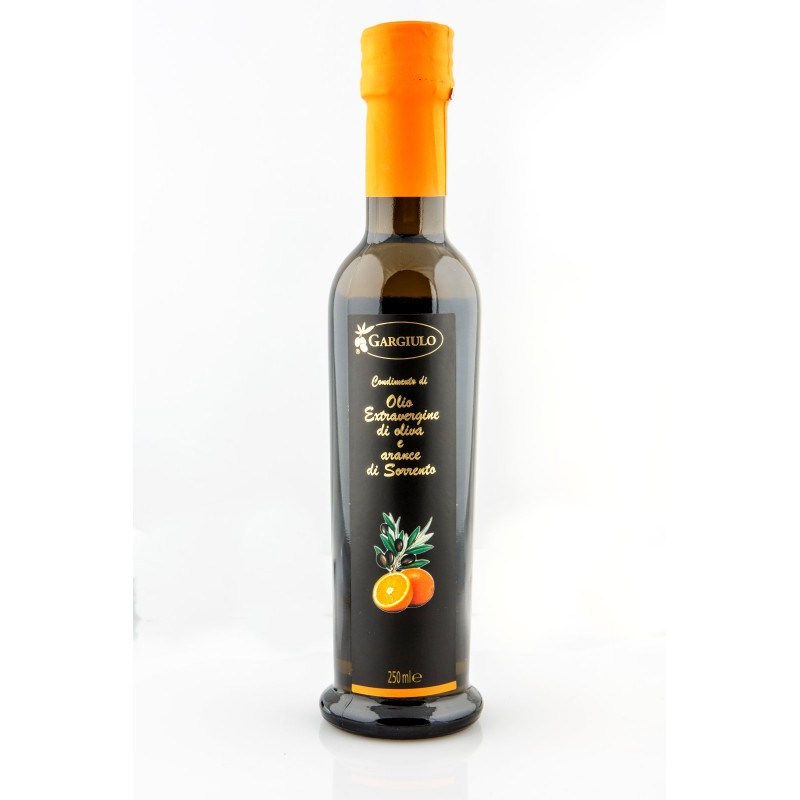 Olio extravergine d'oliva all' arancia
