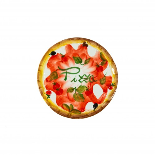 Large pizza dish