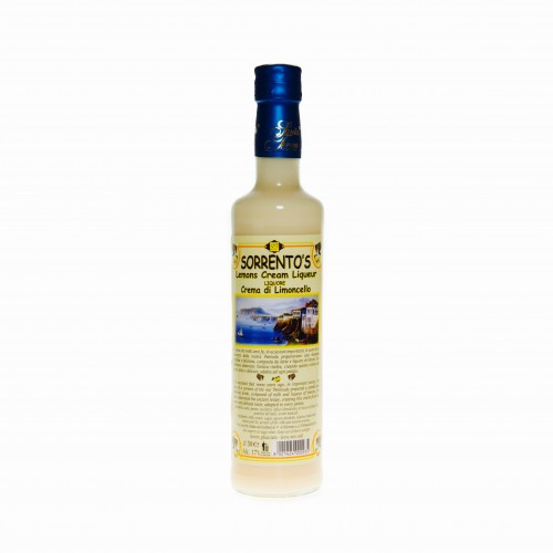 Limoncello cream
