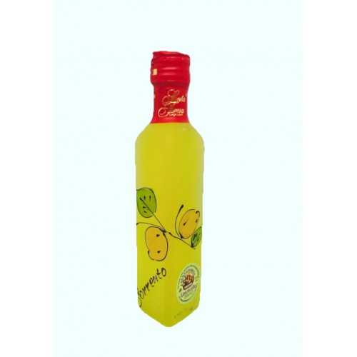 Limoncello with lemon painted 20cl