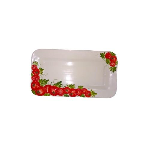 Tomato rectangular tray