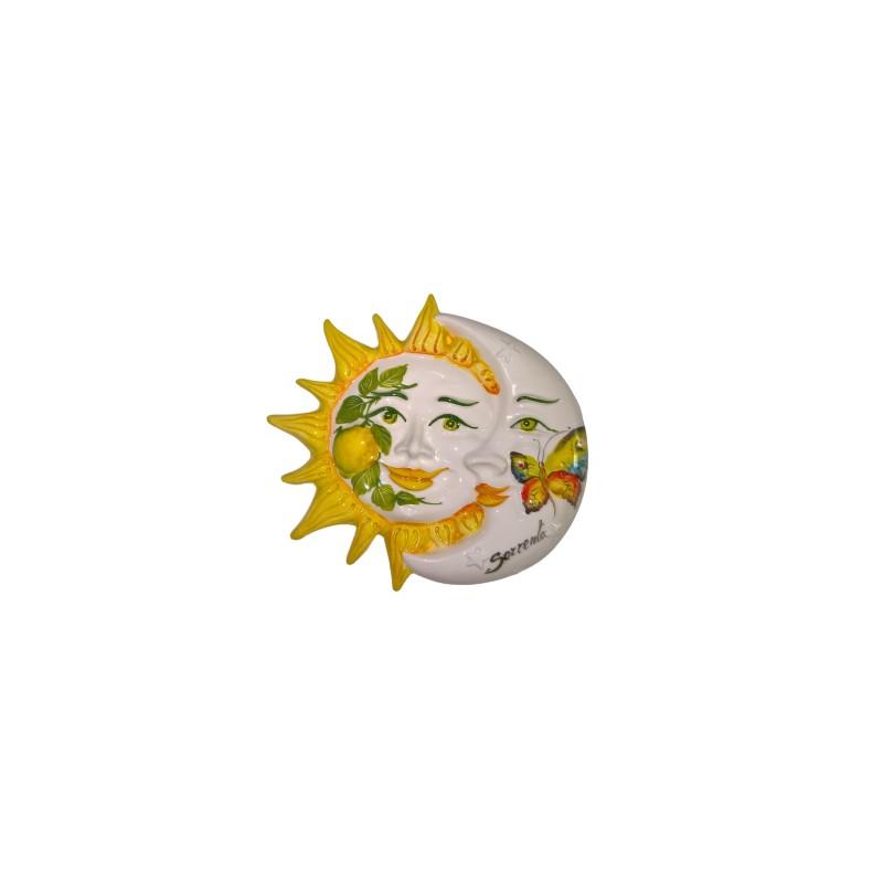 Eclissi piccola limone e farfalla