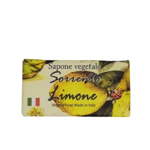Rectangular lemon soap