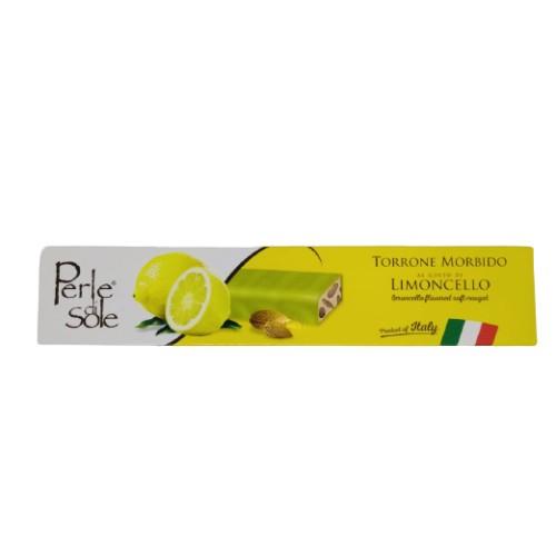 Limoncello flavored soft nougat