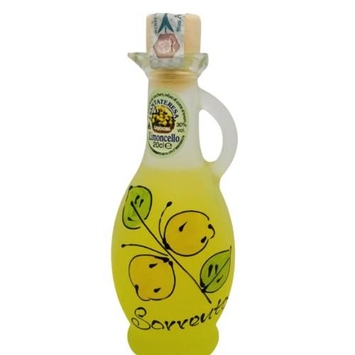 Anfora dipinta a limoncello 20cl