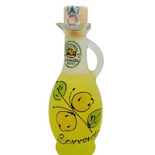 Limoncello painted amphora