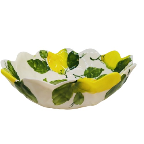 Small lemon salad bowl