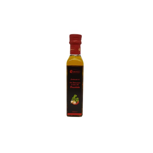 Spaghettata condiment with extra vergin olive oil