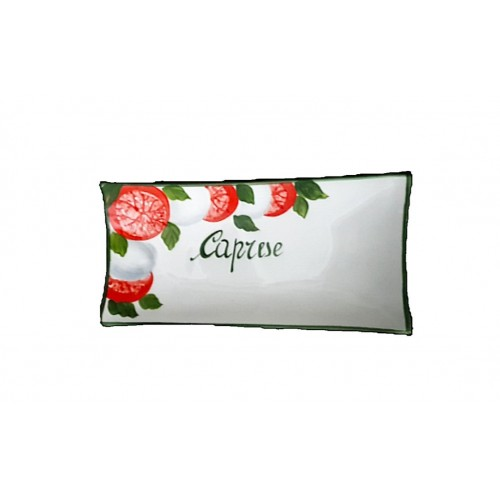 Rectangular caprese tray