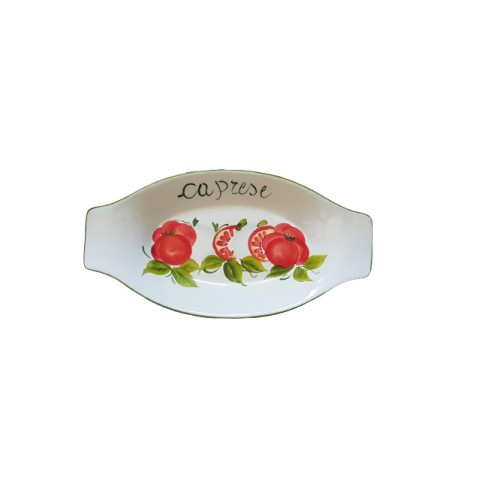Large Caprese tray with handles