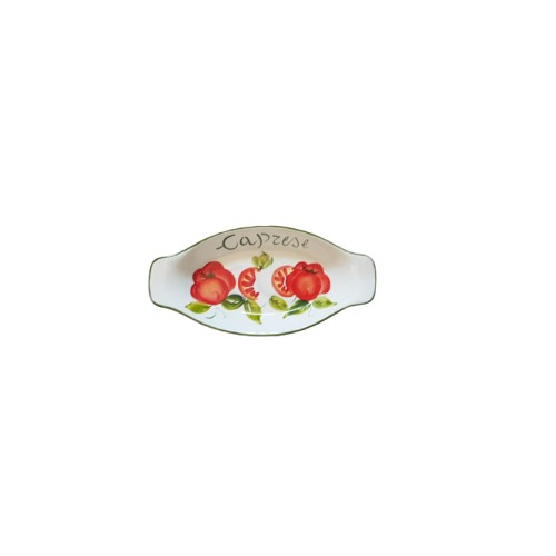 Small Caprese tray with handles