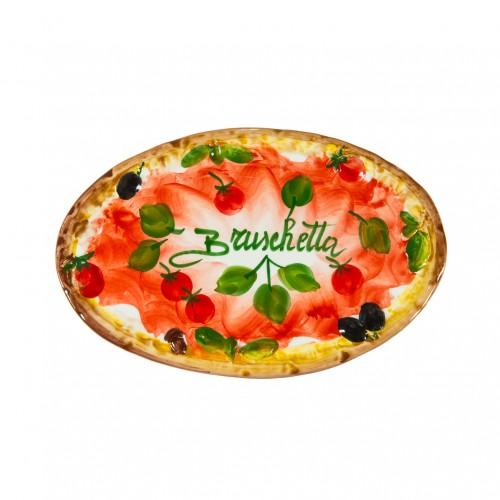 Piatto  ovale Bruschetta